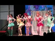 Cosplay Sailor Disney Princesse Japan Expo Sud 2012