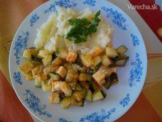 Tofu a cuketou a sezamom - Recept