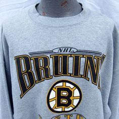 Vintage NHL Boston Bruins Hockey Sweatshirt Size XXL Made in the USA  71435376e