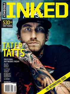 The brand new August/September issue of Freshly Inked is just about to hit newsstands. #InkedMag #Inked #freshlyinked #tattoos #tattoo #international