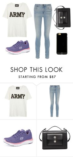 """Crystal Keffler STS"" by sabbtenn on Polyvore featuring NLST, Alexander Wang, Skechers, Balenciaga and Sonix"