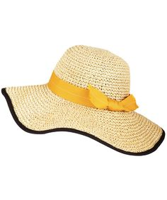 Natural Toyo Crochet Sun Hat
