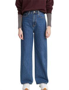 High Loose Straight Leg Jean