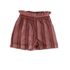Paper Bag Waist Shorts - Peachish