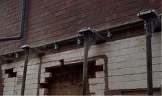 Brick Brace - Brickwork Support Tools UK Scaffold Tube, Tools Uk, Sawn Timber, Masonry Wall, Ebay S, Brickwork, Tool Kit, Ceiling Lights, Outdoor Ceiling Lights