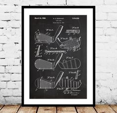 Golf Club Print, Golf Club Poster, Golf Driver Patent, Golf Club, Golf Club Art, Golf Club Decor, Golf Club Blueprint, Golf Club Wall Art by STANLEYprintHOUSE  1.00 USD  We use only top quality archival inks and heavyweight matte fine art papers and high end printers to produce a stunning quality print that's made to last.  Any of these posters will make a great affordable gift, or tie any room together.  Please choose between different sizes and col ..  https://www.etsy.com/ca/lis..