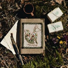 2,528 вподобань, 16 коментарів – Ellen Tyn (@liskin_dol) в Instagram: «A new notebook with meadow fox is available on foxychest.etsy.com:) I enjoyed making this…»