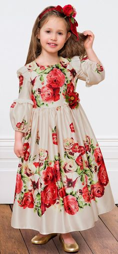 ALALOSHA: VOGUE ENFANTS: Must Have of the Day: Richly embroidered tulle dresses by David Charles