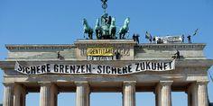 Besetzung Brandenburger Tor