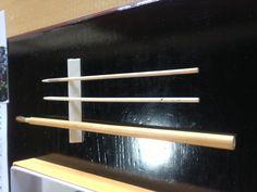 使用する道具  筆と串