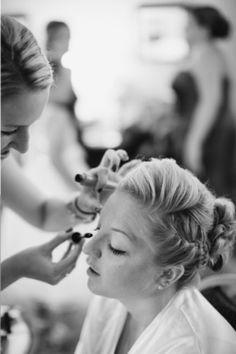 Bridal Hair and Make-up #hairbywhitney #makeupbywhitney