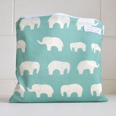 Waterproof bag Wet bag Organic Cotton von CloudLoveBaby