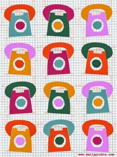365 days of design - Day 85 - telephones
