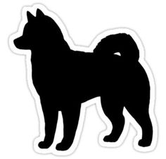 Image result for husky silhouette