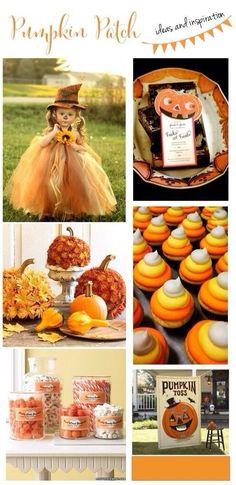 Pumpkin Patch Ideas and Inspiration Halloween 1st Birthdays, Pumpkin 1st Birthdays, Pumpkin Birthday Parties, Halloween Food For Party, Halloween Birthday, 2nd Birthday Parties, Diy Halloween, Halloween Treats, Birthday Ideas