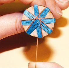 Crochet Buttons, Crochet Yarn, Crochet Flowers, Star Buttons, Diy Buttons, Sewing Box, Sewing Notions, Dorset Buttons, Passementerie