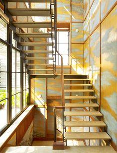 de Gournay   CLOUDS. Interiordesign: ERNEST DE LA TORRE.