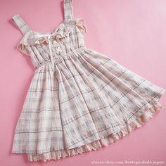 LIZ LISA Big bowknot Lace up Fluffy&flare Dress JSK, Ribbon Hime Lolita…