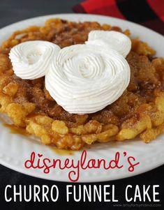 Copycat Disneyland Churro Funnel Cake Artsy-Fartsy Mama Funnel Cake funnel cake at california adventure Homemade Funnel Cake, Homemade Cake Recipes, Cake For One Recipe, Recipe Box, Funnel Cake Fries, Funnel Cakes, Best Disneyland Food, Disneyland Paris, Disney Inspired Food