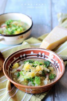 Kapustovo kelová polievka - recept od Coolinári   food blog Ramen, Ethnic Recipes, Blog, Blogging