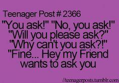 Haha, story of my life!