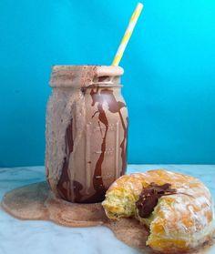 Nutella Donut Milkshake - How to Make a Nutella Donut Milkshake