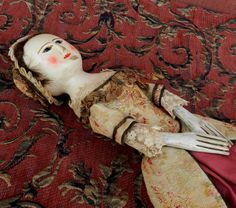 Queen Anne Style doll , by Alena Sinel The Old Wooden Sisters