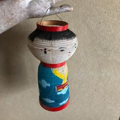 "janet west's Instagram profile post: ""frayed but mighty japanese lantern about 10 inches tall when extended. $21 sent to you comment sold and then dm for purchasing info…"""