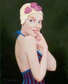Peintre, FRED CALLIERI, peintre américain