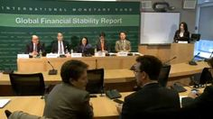 Press briefing on the global financial stability from the IMF-analytical chapters, very interesting.