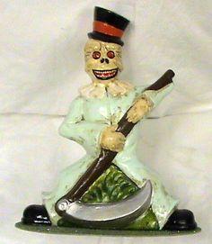 """INO SCHALLER-10"""" Grim Reaper- Halloween Candybox-BAVARIA"""