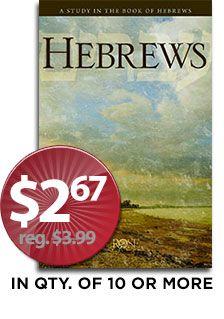 Hebrews Pamphlet - SAVE FOR 4 DAYS ONLY!