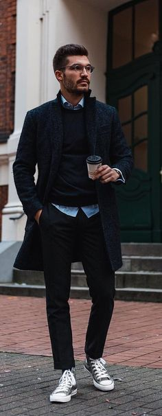 New Moda Hombre Casual Stylish Men Outfit 34 Ideas Outfits Hombre Casual, Outfit Hombre Formal, Formal Men Outfit, Stylish Mens Outfits, Mens Sweater Outfits, Semi Formal Outfits, Stylish Man, Hipster Sweater, Cool Sweaters
