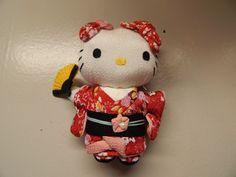 Sanrio Hello Kitty geisha girl anime stuffed plus 2012 #Sanrio