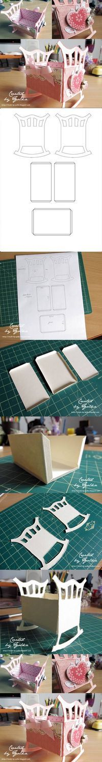 DIY Paper Crib DIY Projects | UsefulDIY.com