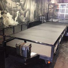 Rhino lined trailer