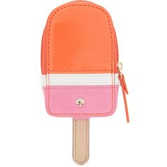 Kate Spade New York Ice Pop Coin Purse (1.037.130 IDR) ❤ liked on Polyvore featuring bags, wallets, multi, coin pouch, red coin purse, change purse, genuine leather wallet and zipper coin purse