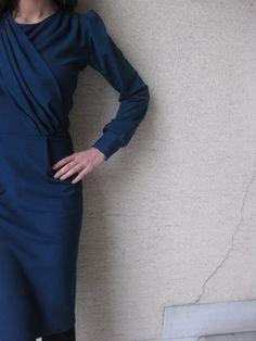 billur, off ne giysem, #bluedress #longdress