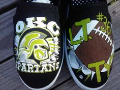 Shoe painting