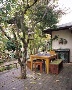 via heavywait - modern design architecture interior design home decor & Outdoor Rooms, Outdoor Tables, Outdoor Furniture, Outdoor Decor, Cafe Interior, Interior Design, Concept Shop, Cozy Corner, Beautiful Space
