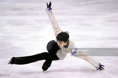 Yuzuru Hanyu of Japan competes in the Men's Singles Free Skating during day three of the ISU Grand Prix of Figure Skating Final at the Barcelona International Convention Centre on December 12, 2015 in Barcelona, Spain.
