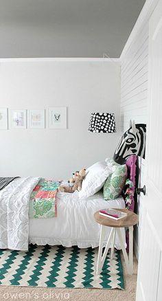 Girl Bedroom Ideas - Bedroom makeover - Owens Olivia