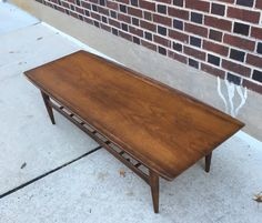 Vintage Mid Century Coffee Table by bcdrygoods on Etsy