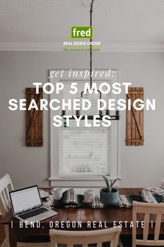 In search of simpler times with our living spaces and home design 🏡💚🔍💚🏡  With much more time spent within our homes this past year, DIY projects, home improvements, remodels, and living space updates are priority for many as they seek to refresh their homes and boost their moods.  So, what are the top five searched design styles in each state? ➡️ Continue reading on our blog | Fred Real Estate Group - Bend, Oregon real estate Big Design, Design Styles, Decor Styles, Design Trends, Modern Design, House Design, Oregon, Design Movements, Bohemian Design