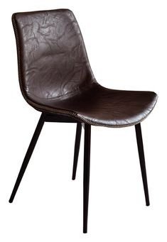 Köp - 990 kr! Madrid stol - Mörkbrun vintage. Stol i stilren modern design, sits samt rygg i mörkbrunt New Furniture, Madrid, Dining Chairs, Vintage, Design, Home Decor, Velvet, Decoration Home, Room Decor