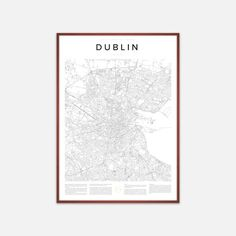 This is the beautiful rendition of Dublin, Ireland, in the Encyclopaedia Urbana…