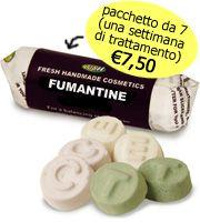 "Il Calderone Alchemico Cosmesi Home Made: ""FUMANTINE"" LUSH TYPE (Isabella T.)"