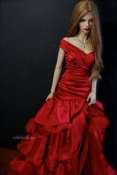 https://flic.kr/p/q7eaTE | The Red Dress | Nastassia - SID RS Rebecca