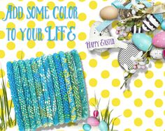 Colorful Aid through Trade bracelets
