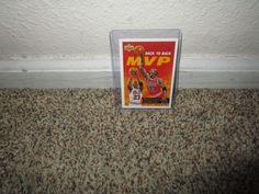 1442b73bf1b3 Details about 1992-93 Upper Deck  488 Michael Jordan Game Faces Insert  Chicago Bulls HOF MVP